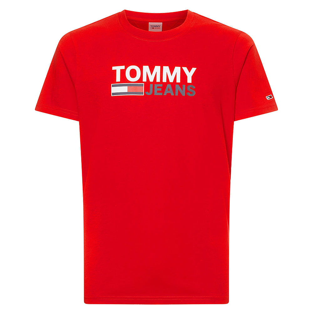 Corporate Logo T-Shirt in Red