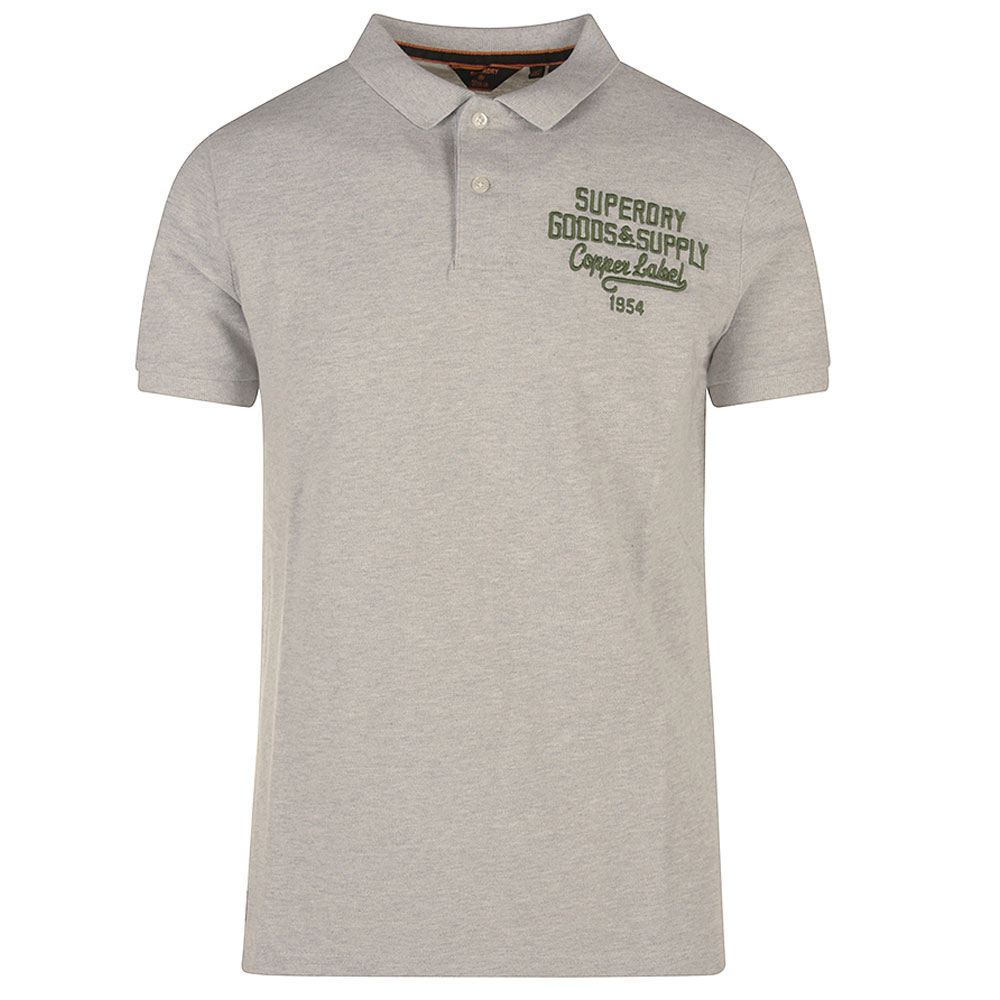 Superstate Polo Shirt in Lt Grey