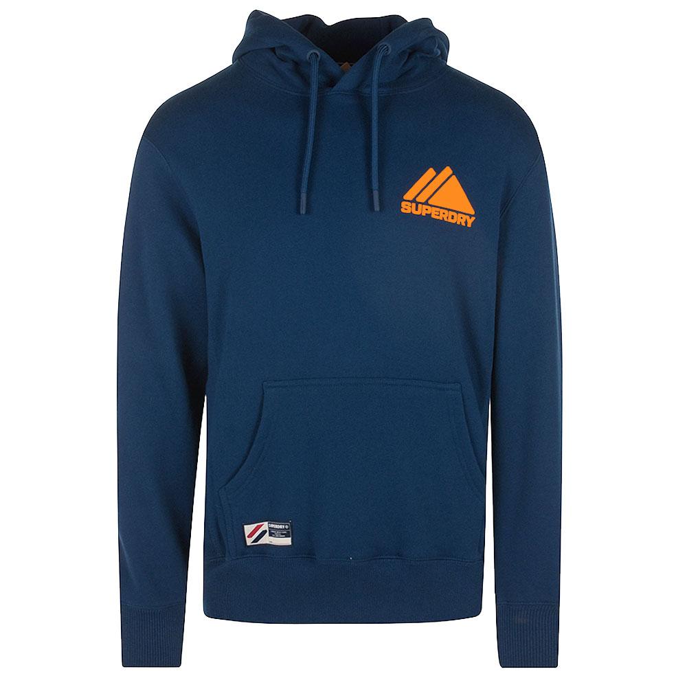 Mountain Sport Hood in Blue