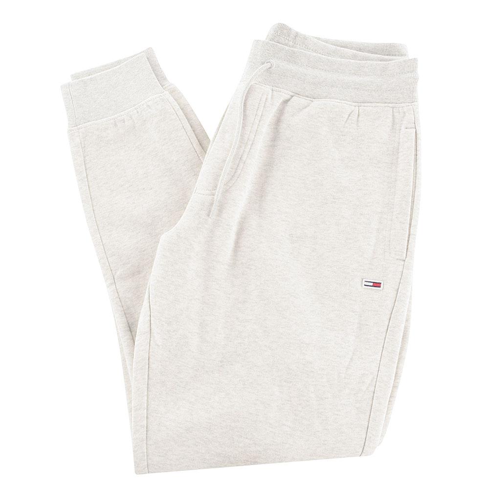 Slim Fleece Sweatpants in Lt Grey