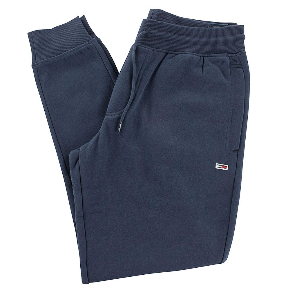Slim Fleece Sweatpants in Navy