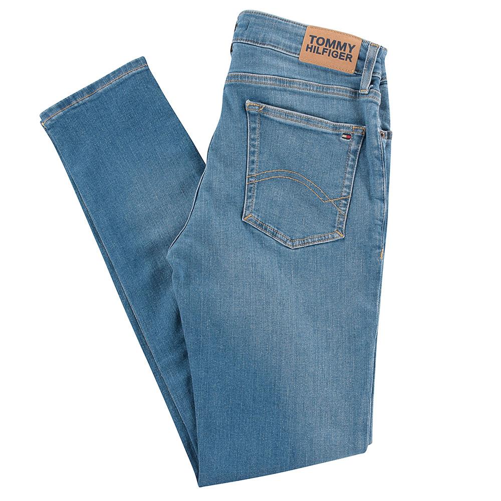 Simon Skinny Jeans in Lt Stone