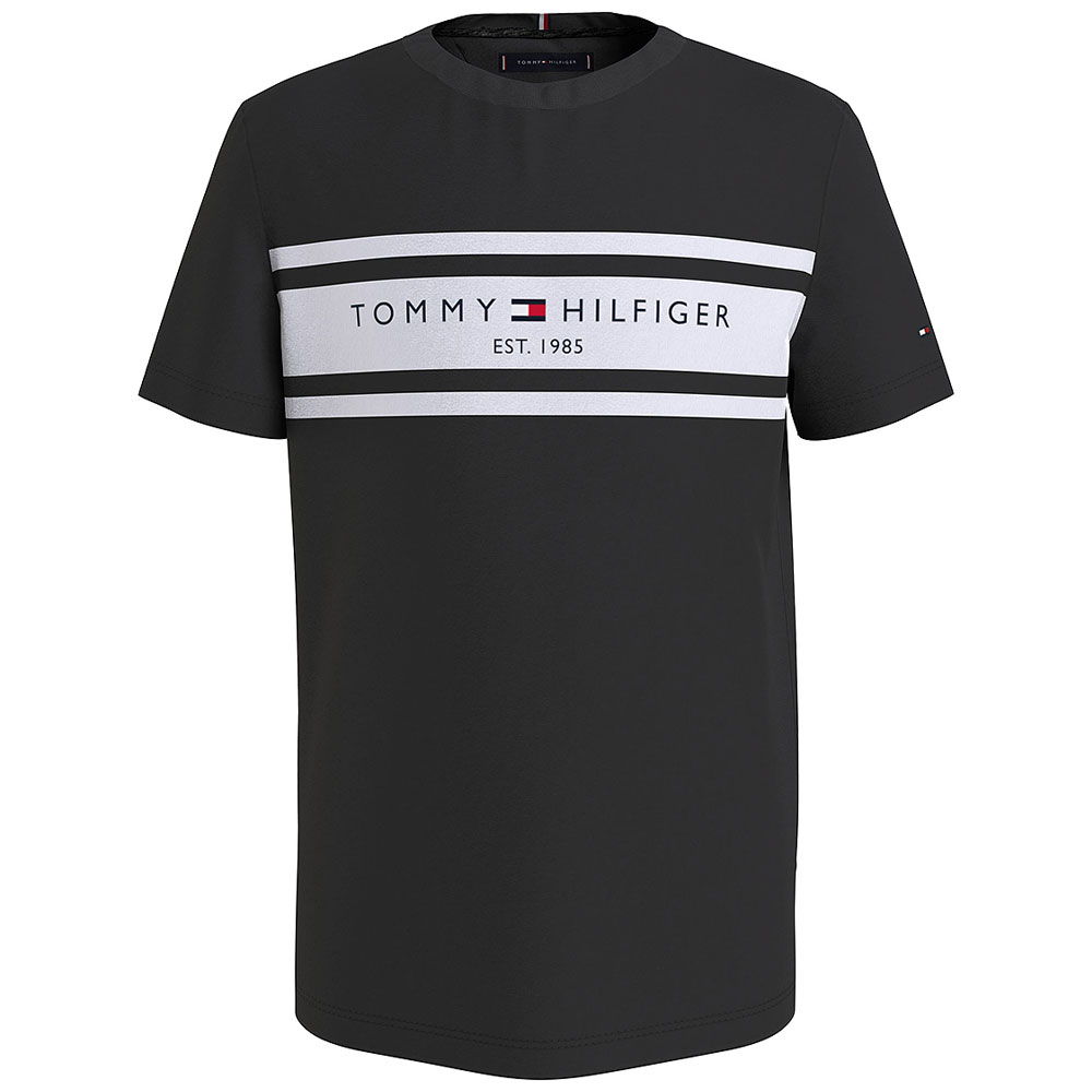 Boy's Blocking T-Shirt in Black