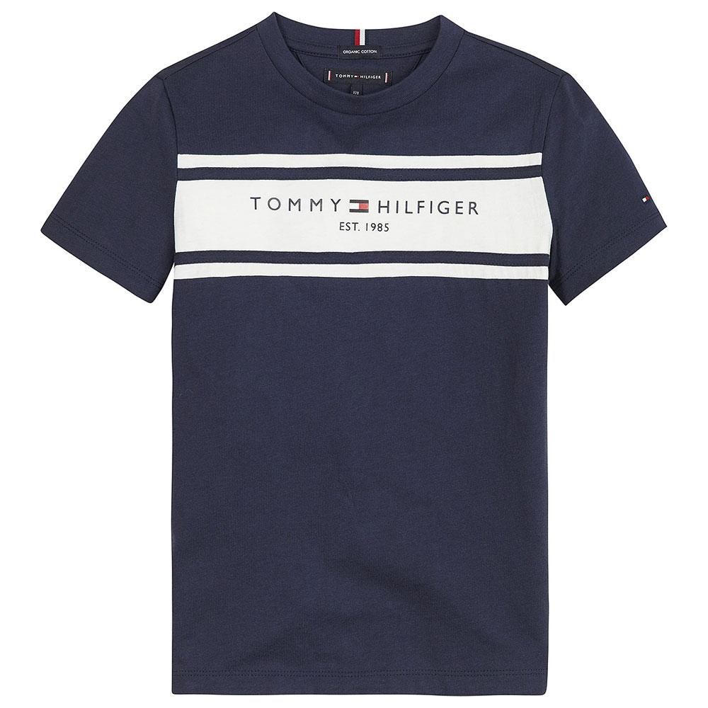 Boy's Blocking T-Shirt in Navy