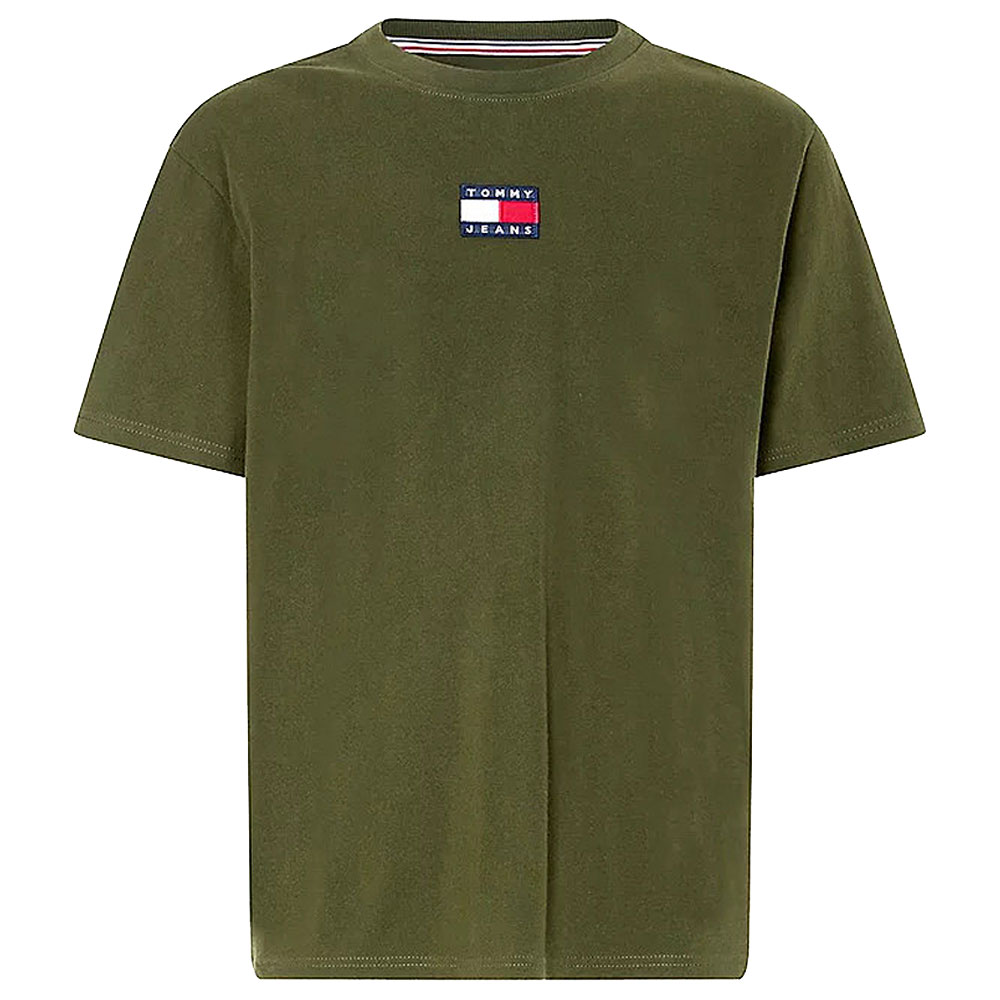 Tommy Badge T-Shirt in Green