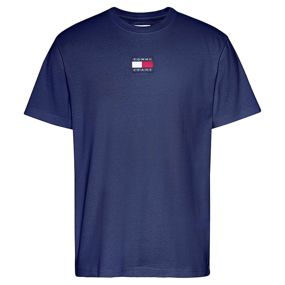 Tommy Badge T-Shirt in Navy