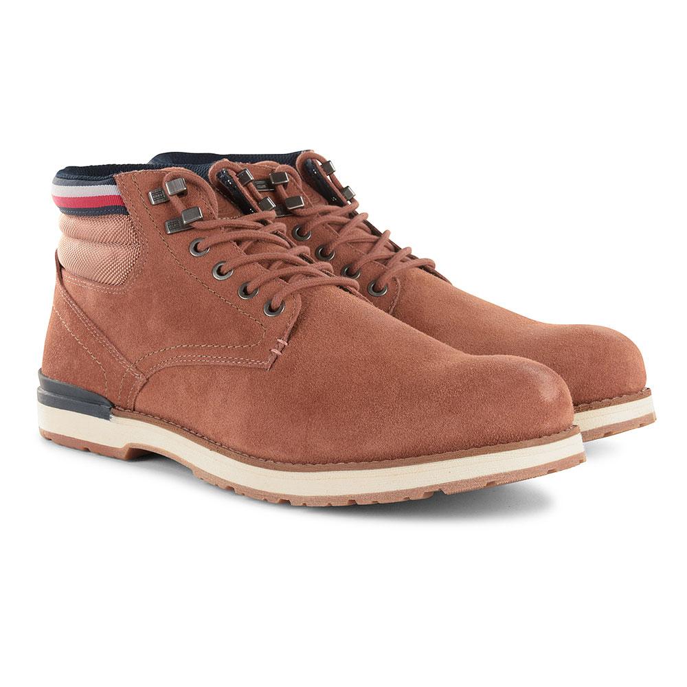 Outdoor Suede Boot in Tan