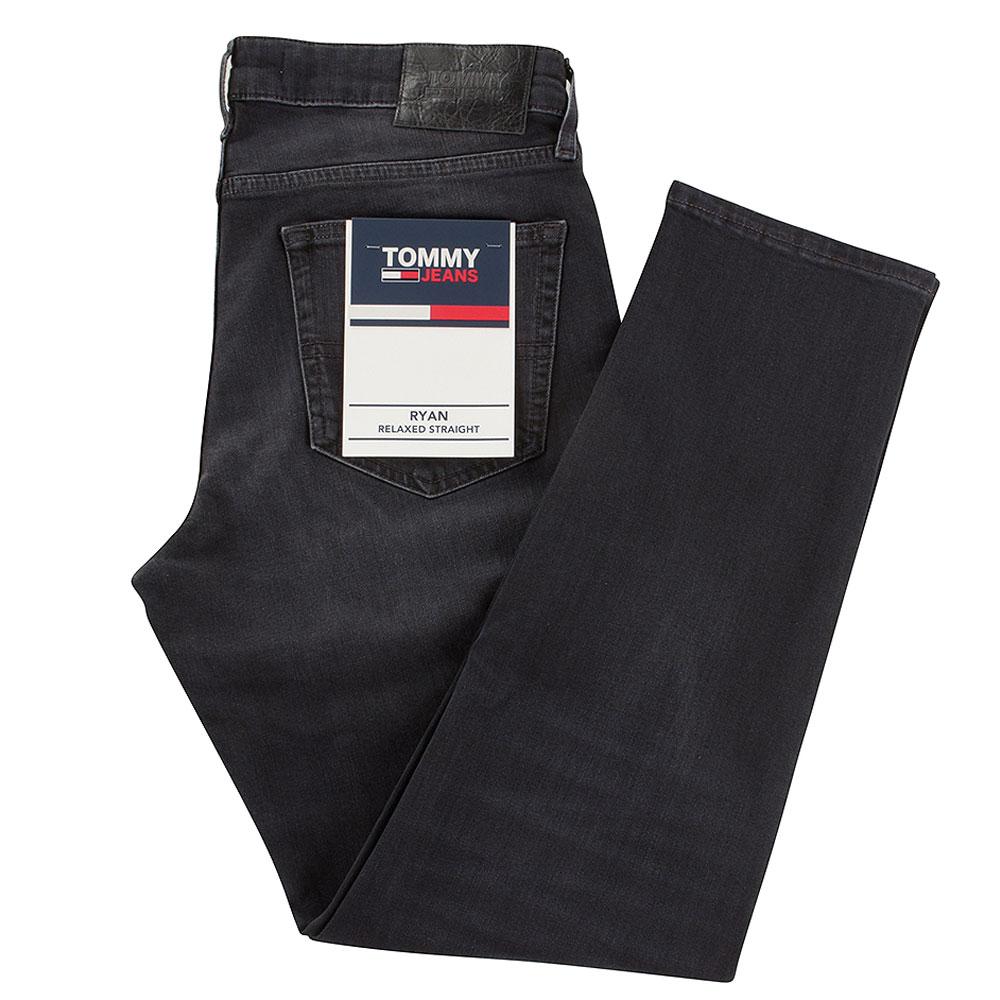 Ryan Straight Cut Jeans in Black
