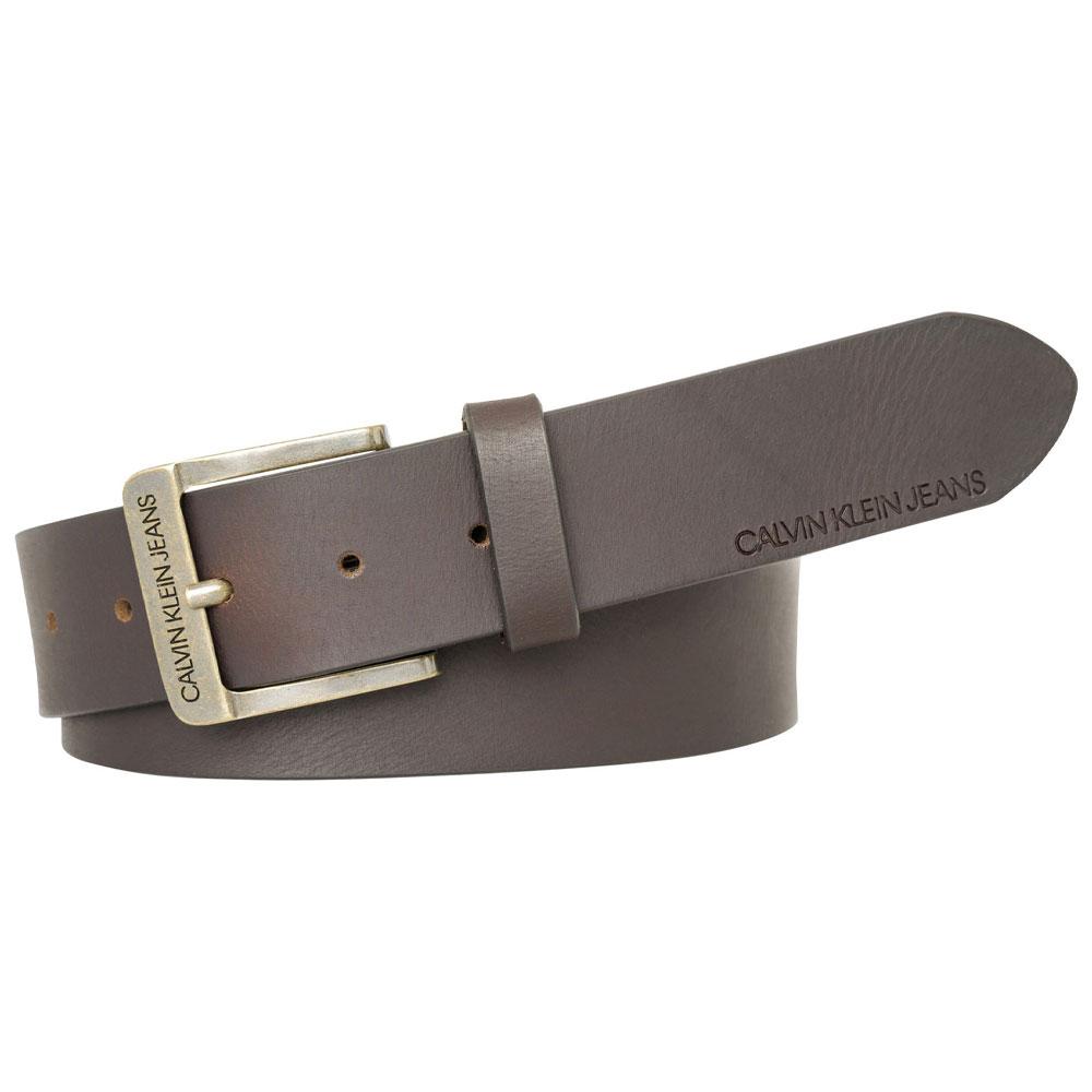 CK 4cm Belt in Brown