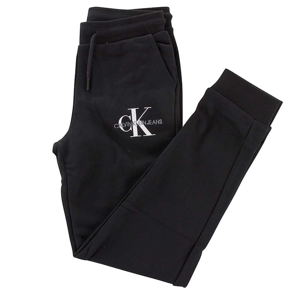 Monogram Kids Sweatpants in Black