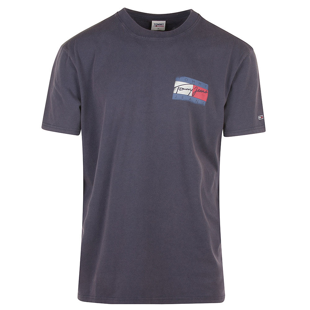 Faded Flag T-Shirt in Navy