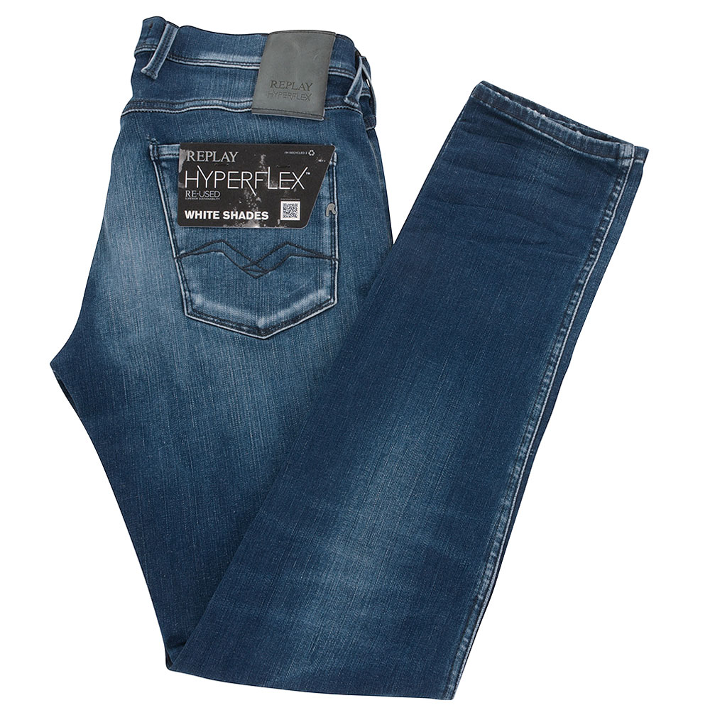 Anbass Slim Fit Jeans in Blue