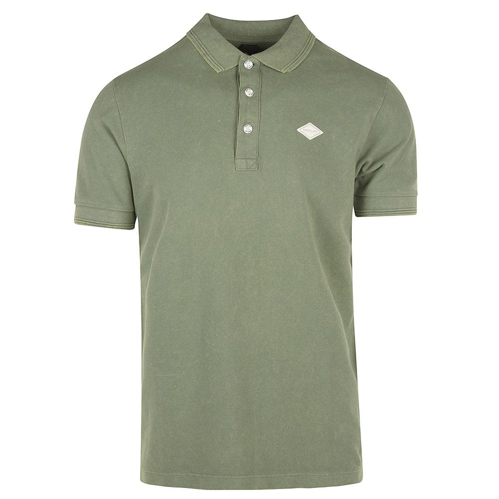 Replay Polo Shirt in Green