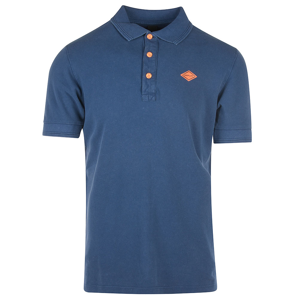 Replay Polo Shirt in Blue