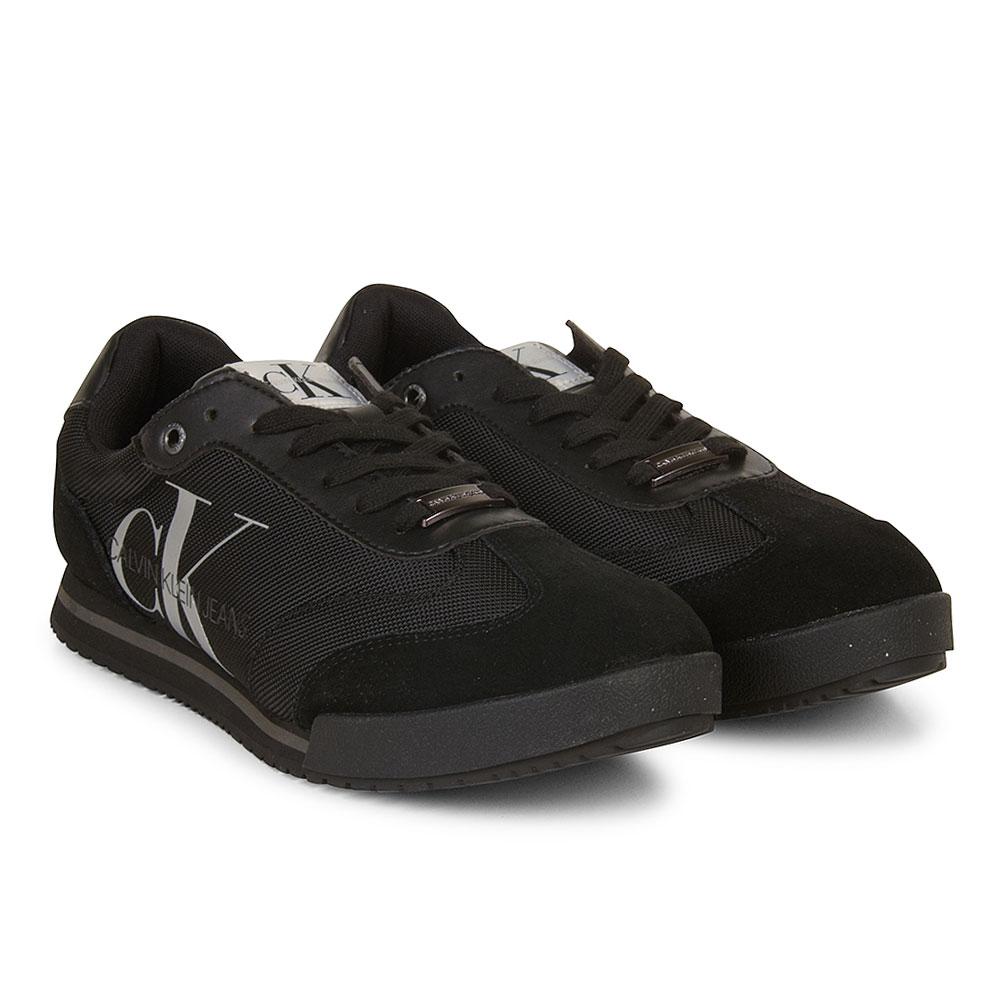 CK Lace Up Sneaker in Black