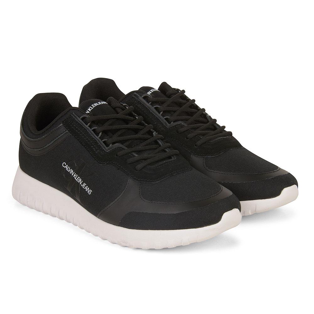 CK Runner Sneaker Lace Up in Black