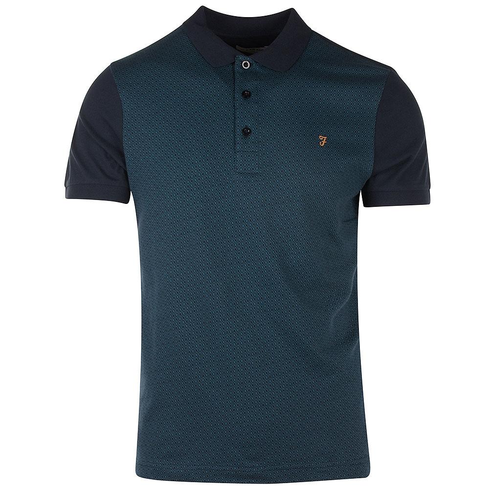 Bergen SS Polo Shirt in Navy