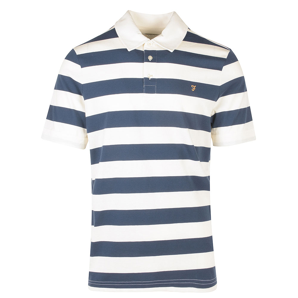 Demme SS Polo Shirt in Blue