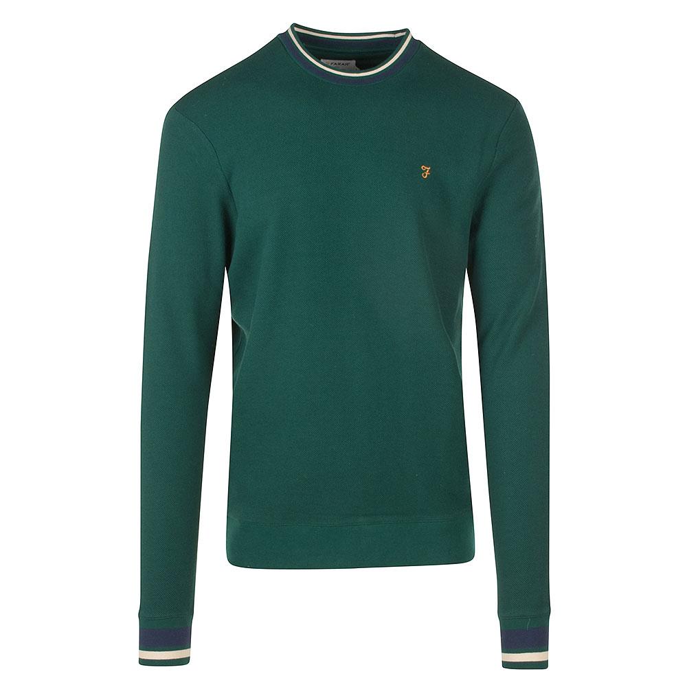 Neptune LS Crew Sweater in Green