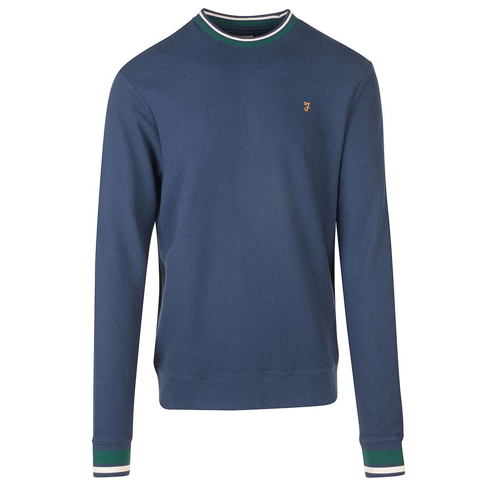 Neptune LS Crew Sweater in Lt Green
