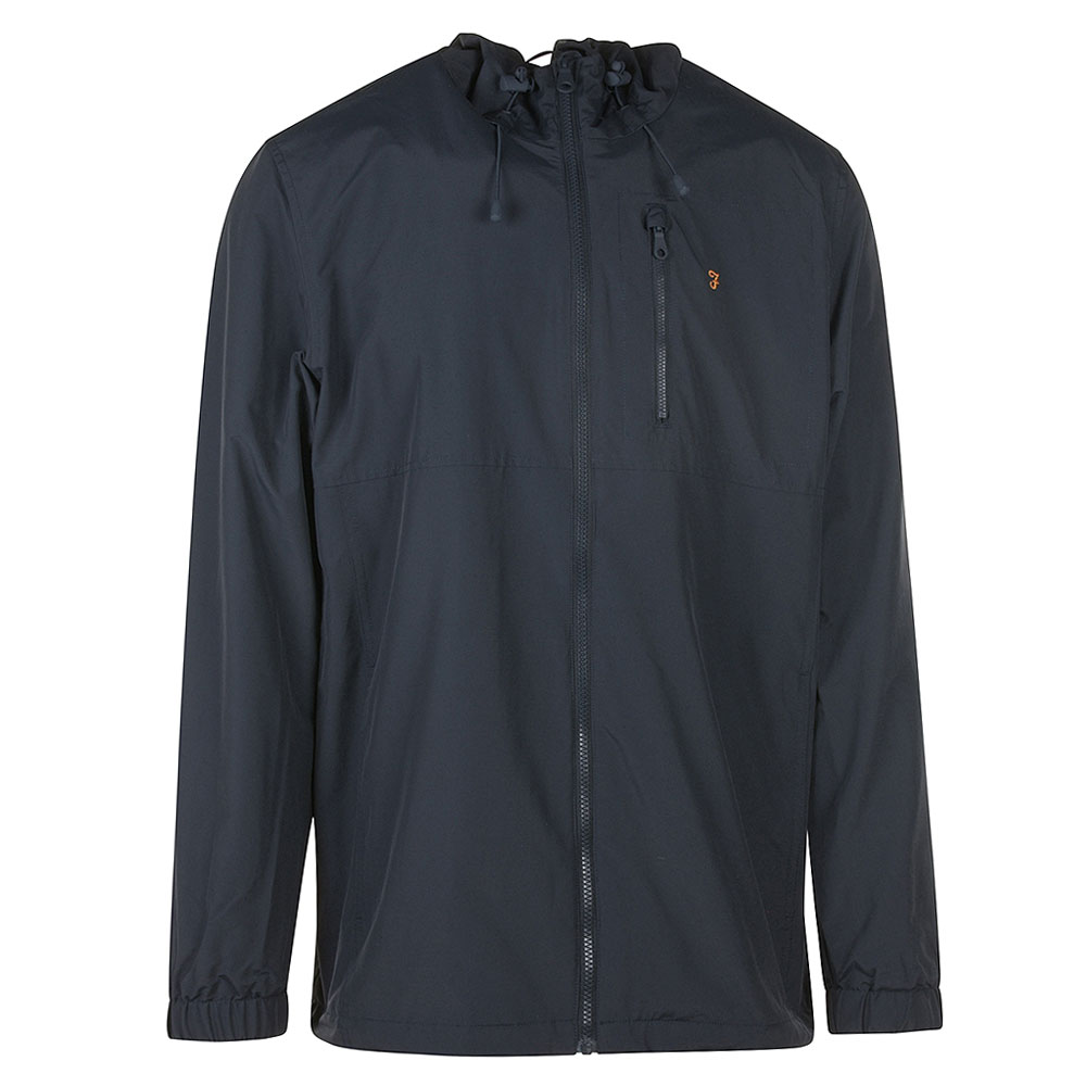 Westchester Hooded Jacket in Navy