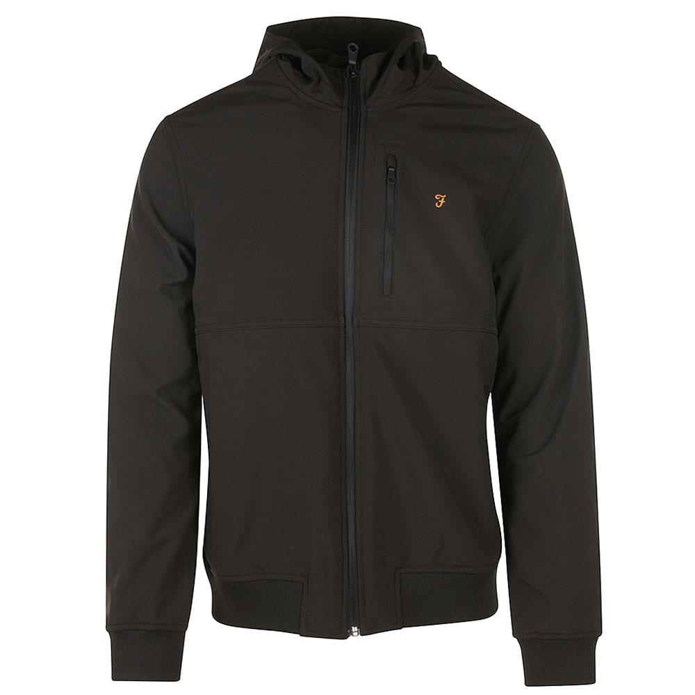 Rudd Softshell Jacket in Black