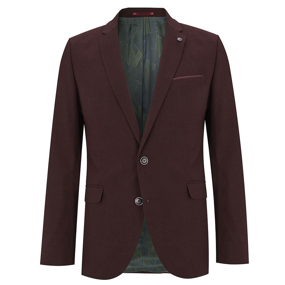 Luca Suit in Burgundy