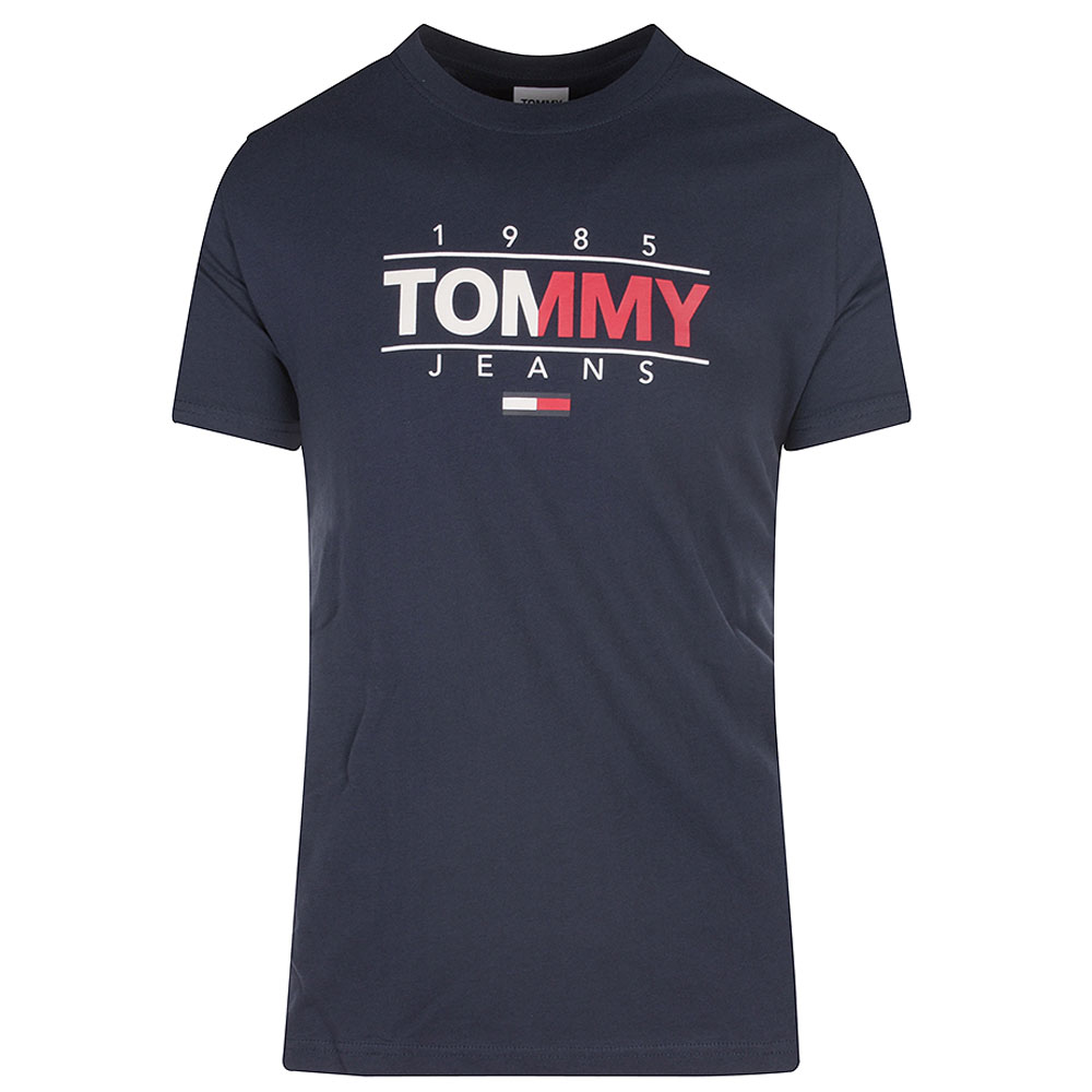 Essential Graphic T-Shirt in Navy