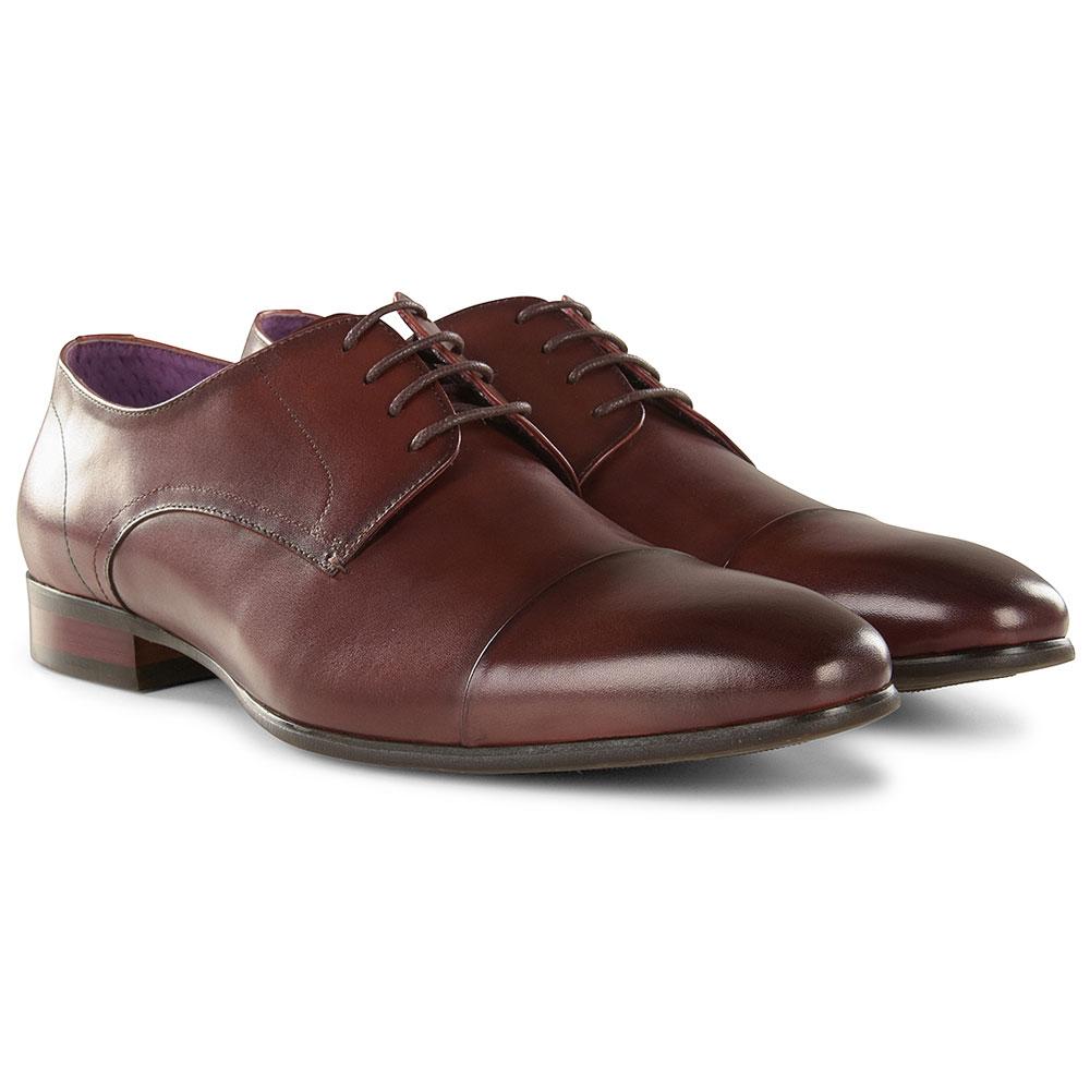 MGN1102 Toe Cap Tie Shoe in Tan