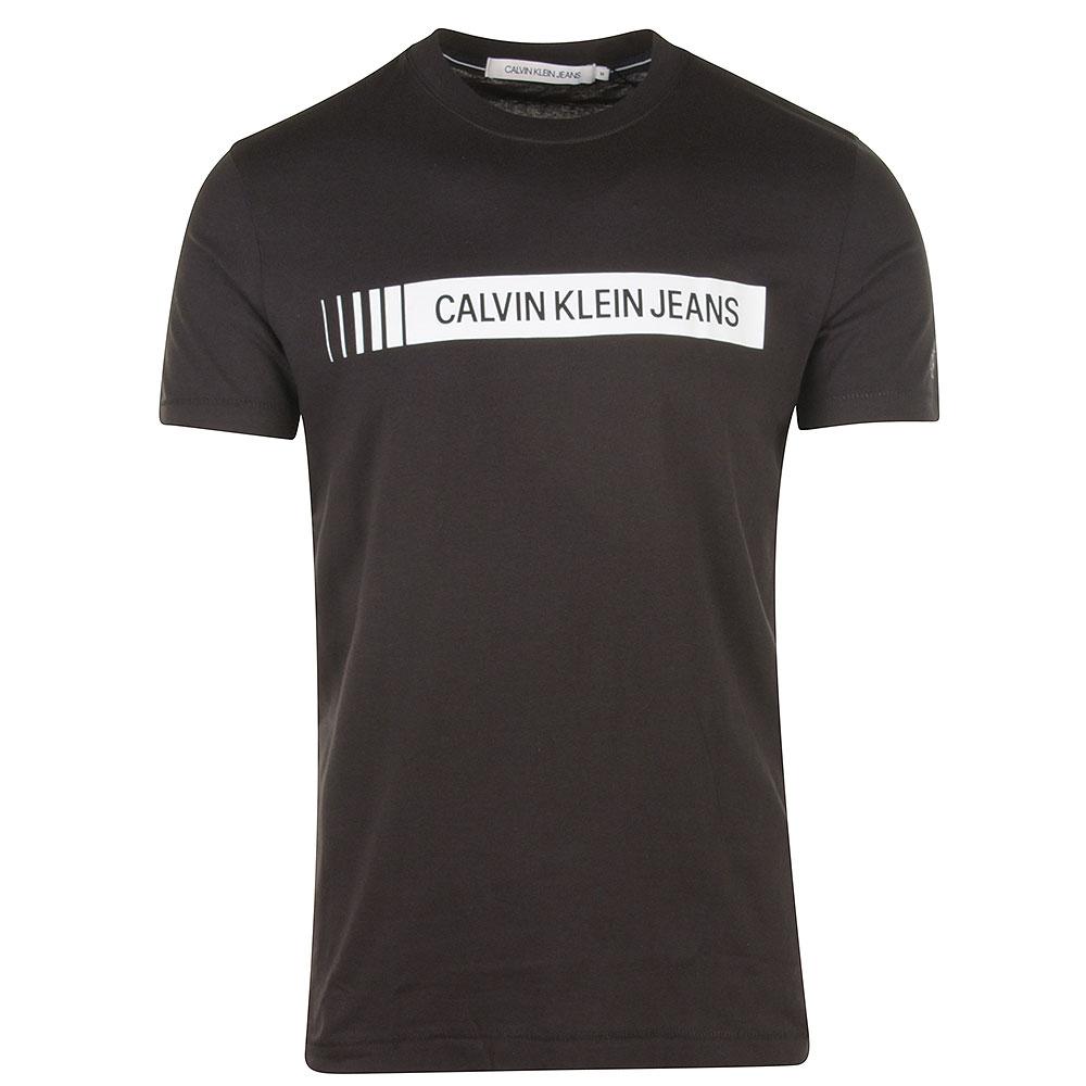 CK Logo T-Shirt in Black