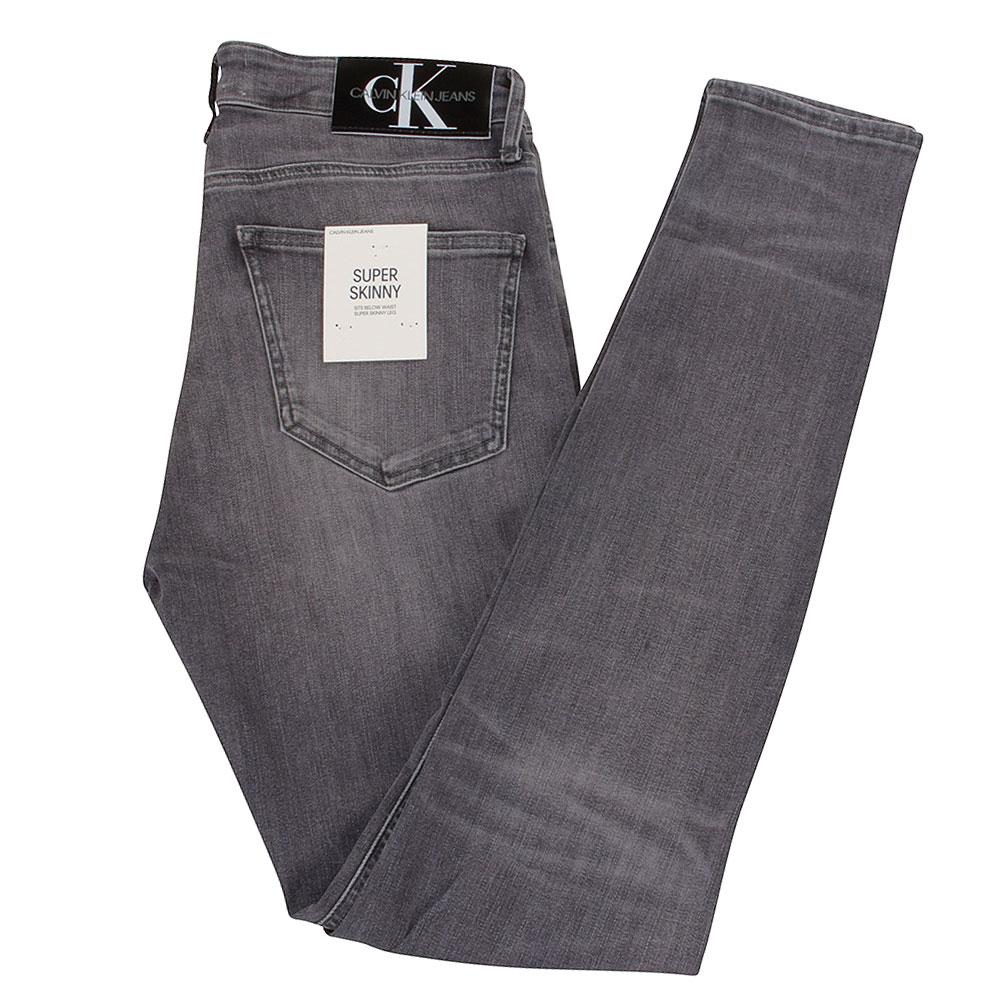 CK Super Skinny Jeans in Grey