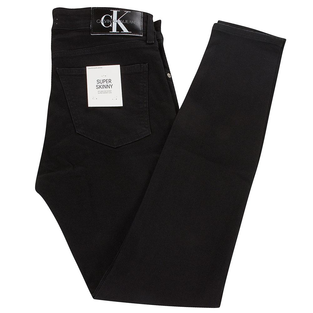 CK Super Skinny Jeans in Black