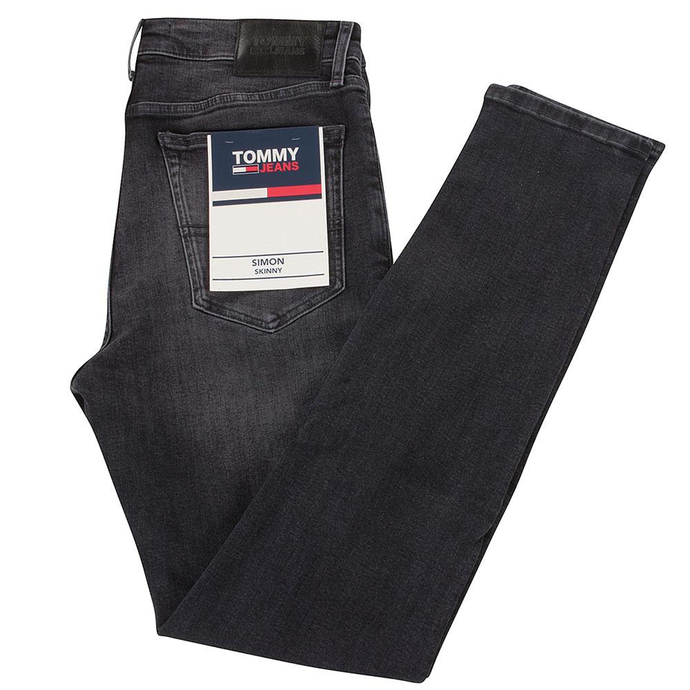 Simon Skinny Jeans in Black