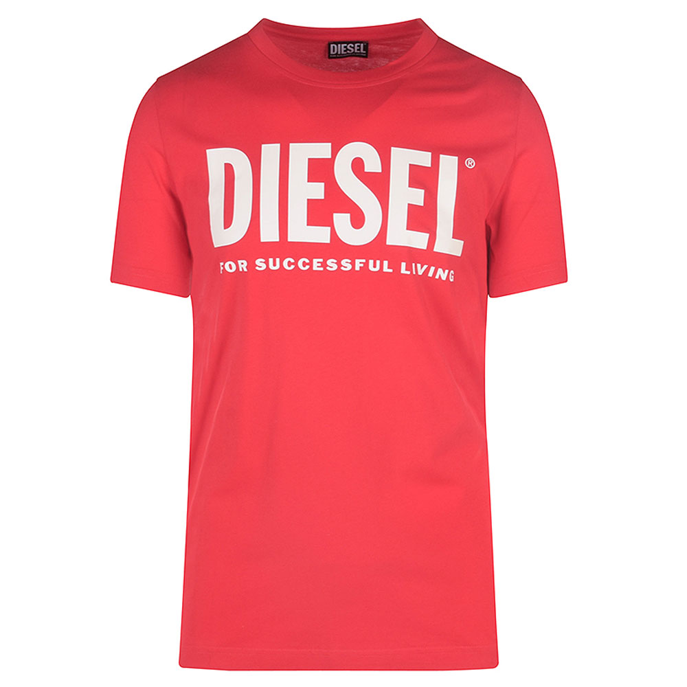 Diegos Eco Logo T-Shirt in Red