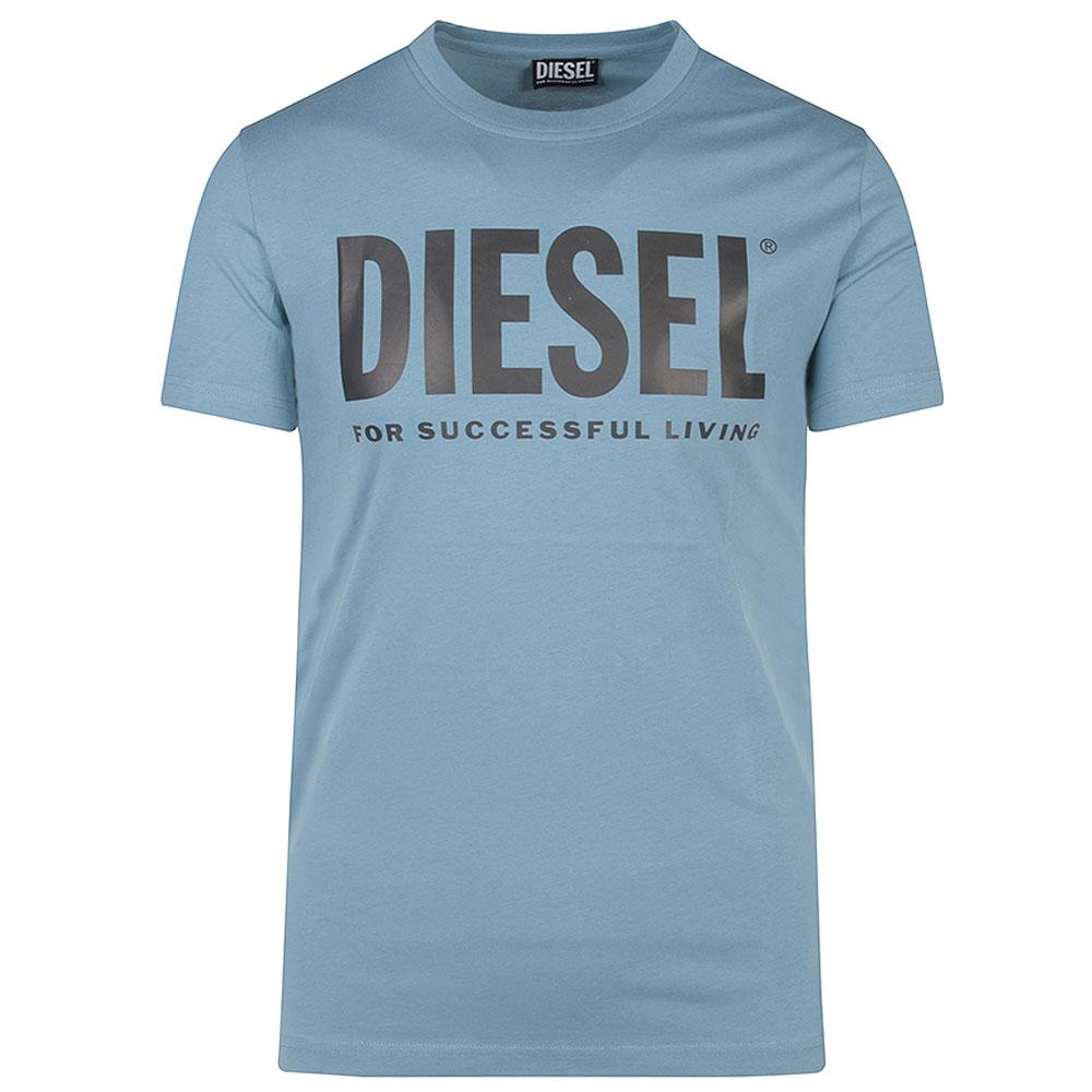 Diegos Eco Logo T-Shirt in Blue