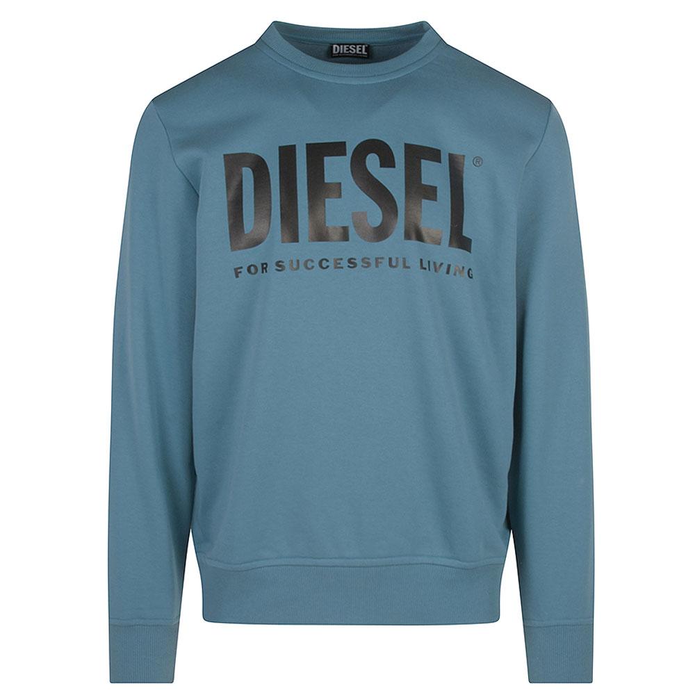Felpa Crew Neck Sweatshirt in Blue