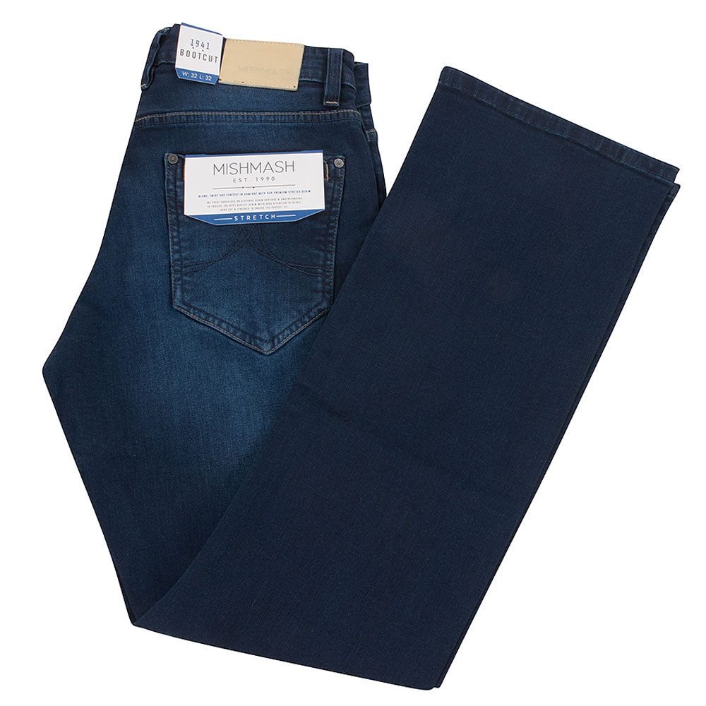 1955 Volta Bootcut Jean in Blue