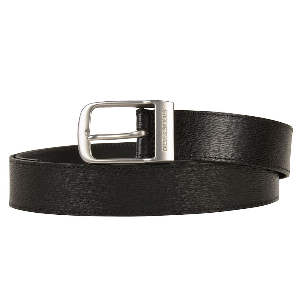 Classic Square Pin Belt in Black
