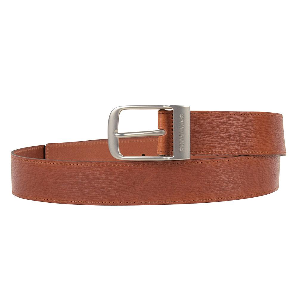 Classic Square Pin Belt in Tan