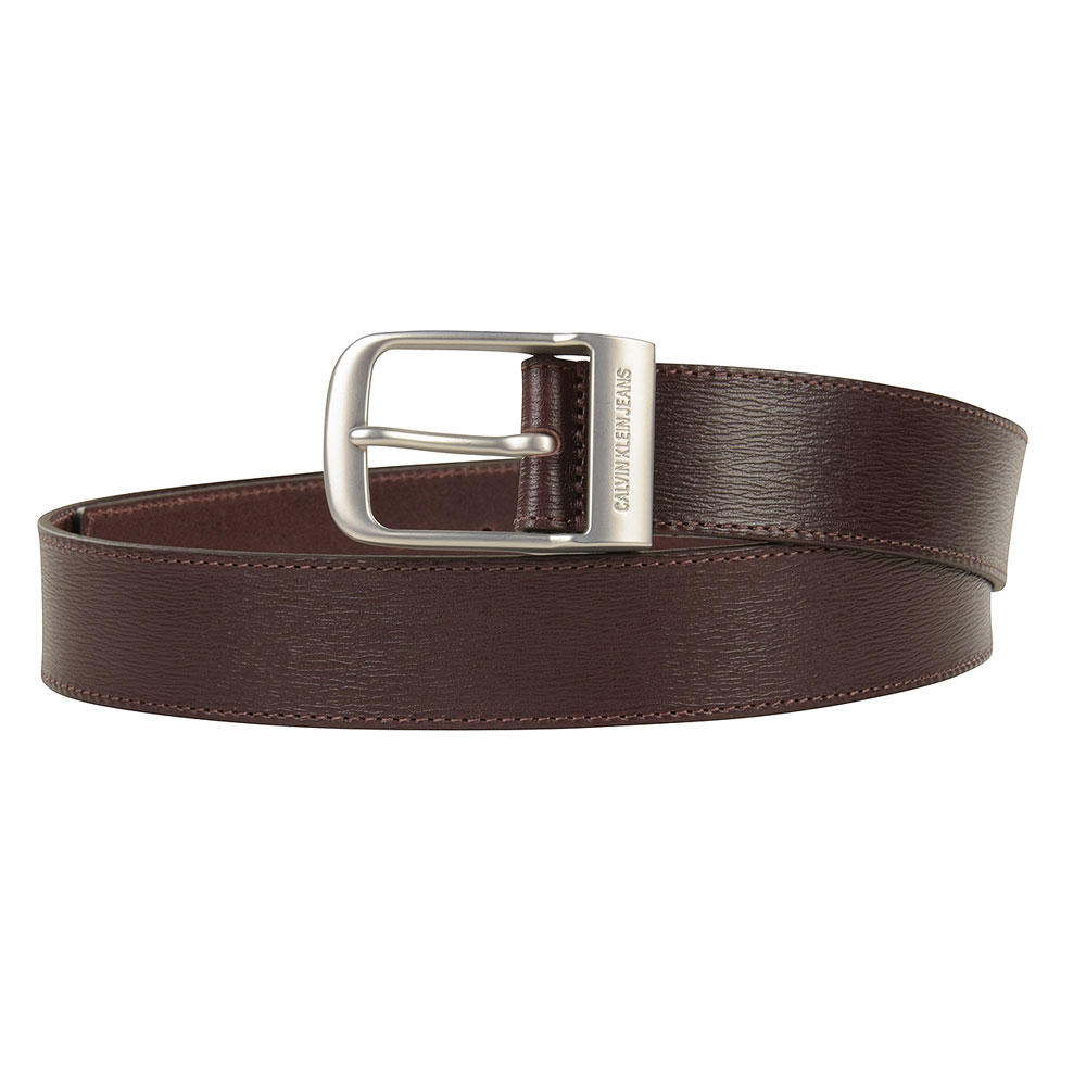 Classic Square Pin Belt in Brown