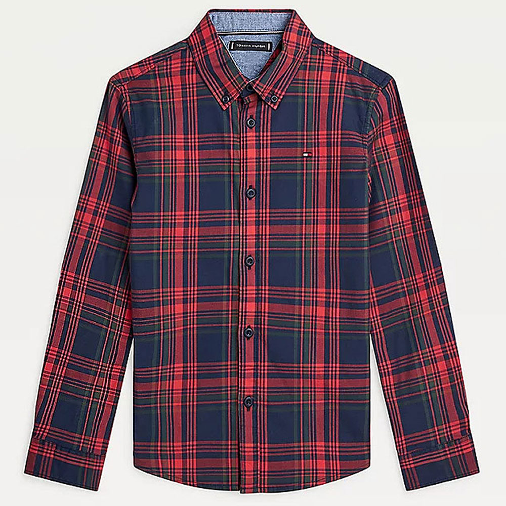 Classic Check Shirt in Red