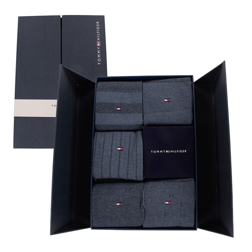 Tommy Hilfiger Socks 5 Pack Gift Box in Blue