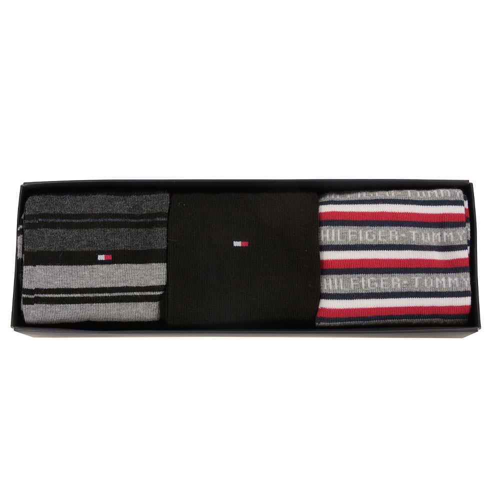Sock 3 pack Gift Box in Black