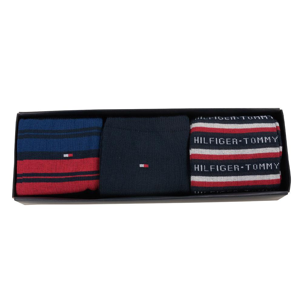Sock 3 pack Gift Box in Navy