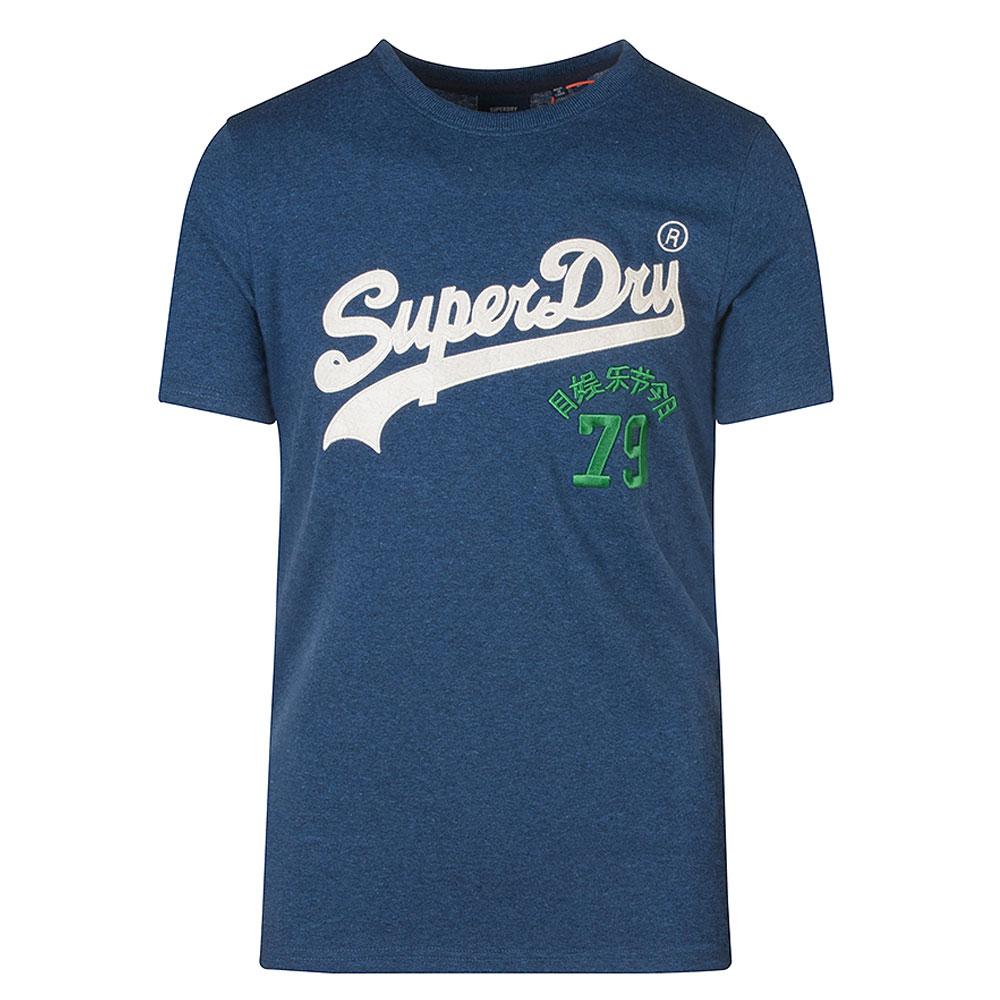 Vintage Source T-Shirt in Blue