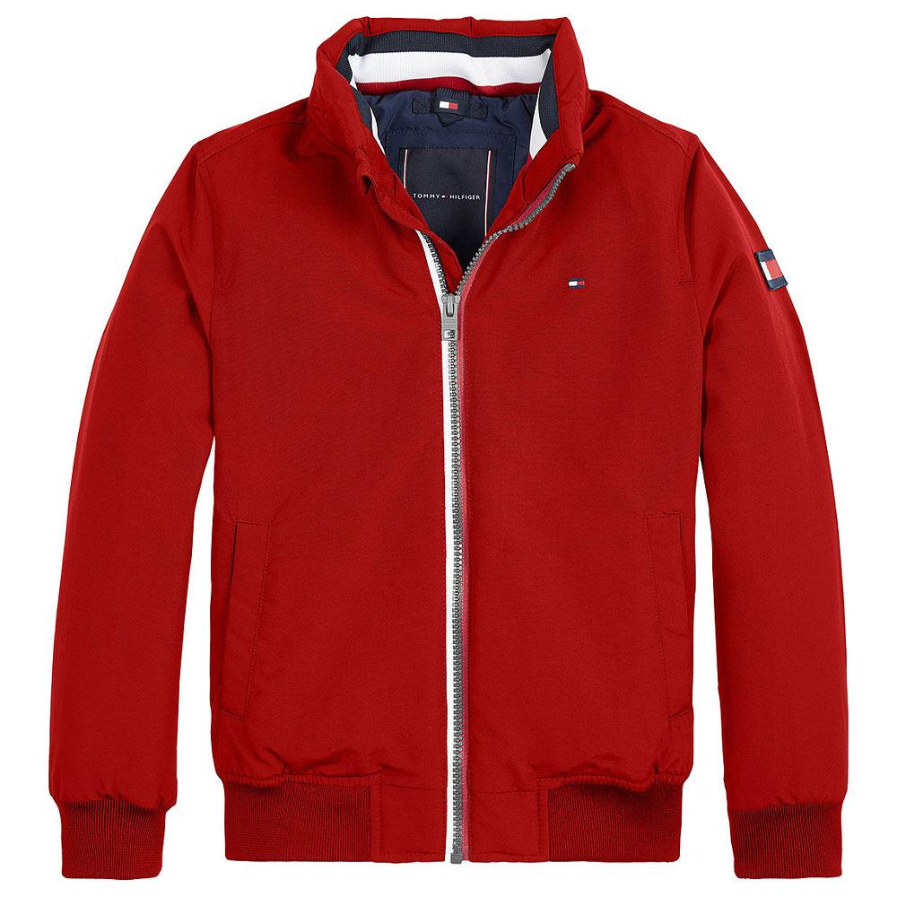 Kids Essentail Jacket in Red