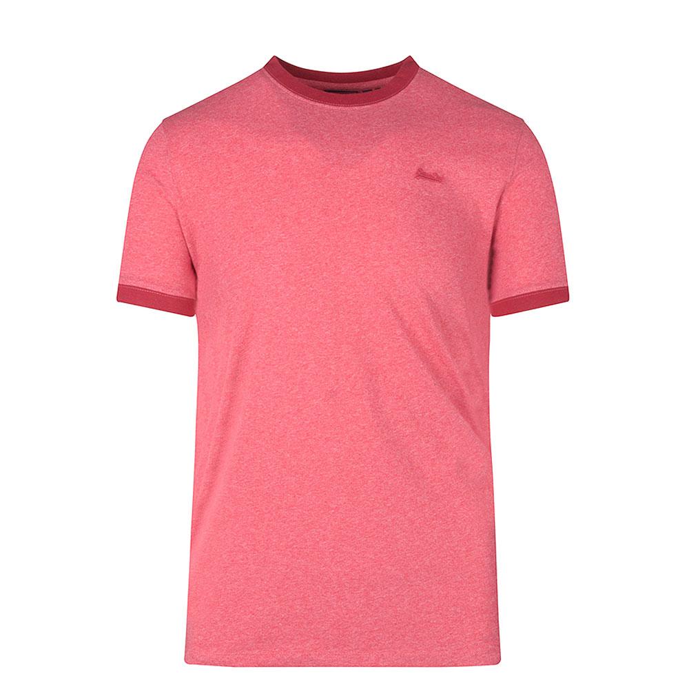 Vintage Ringer T-shirt in Red