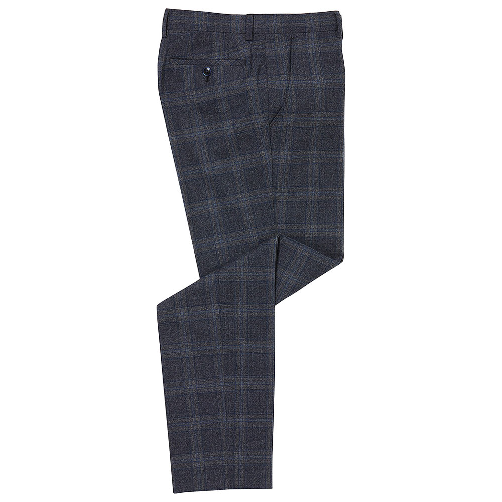 Larenzo Trouser in Charcoal