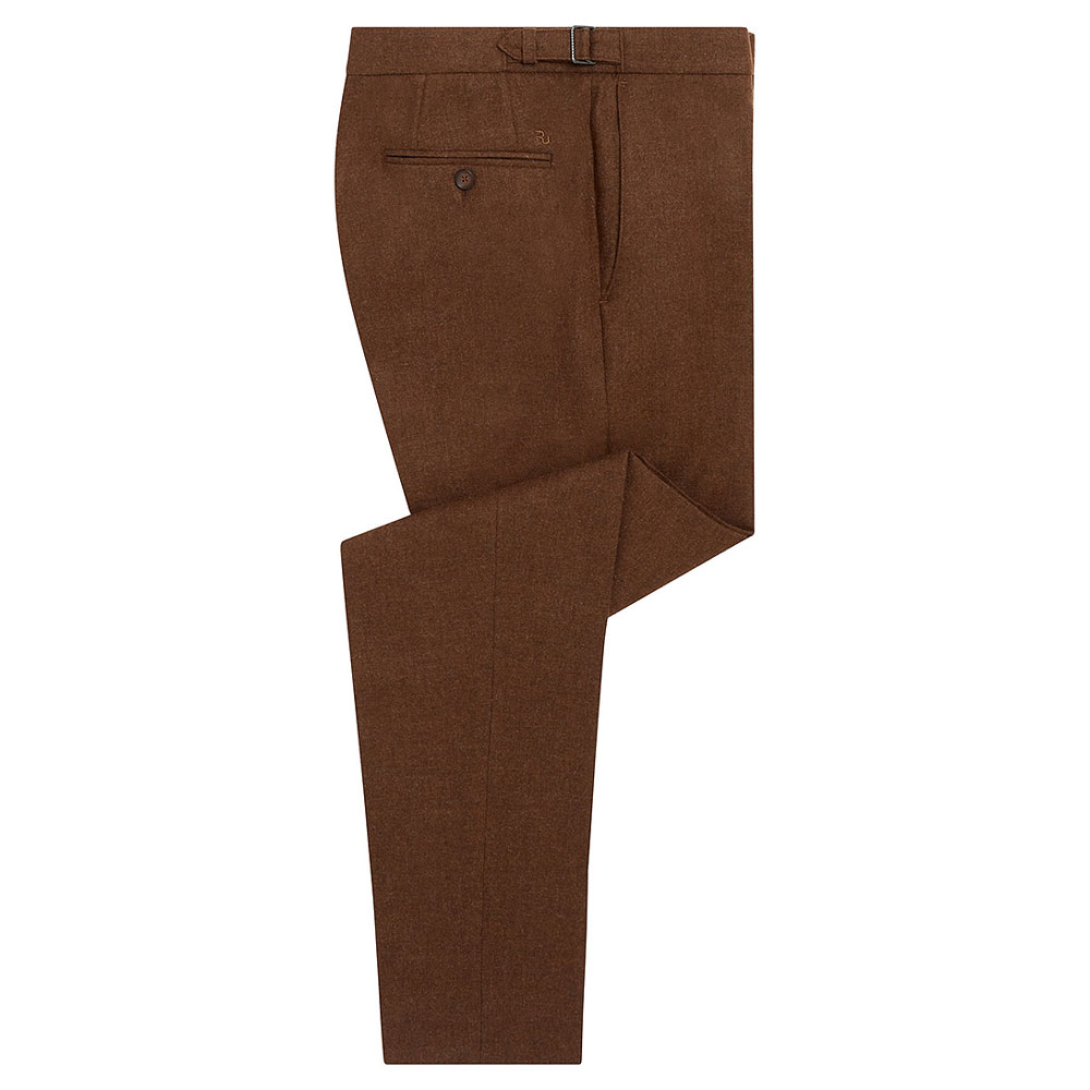 Stefano Trouser in Brown