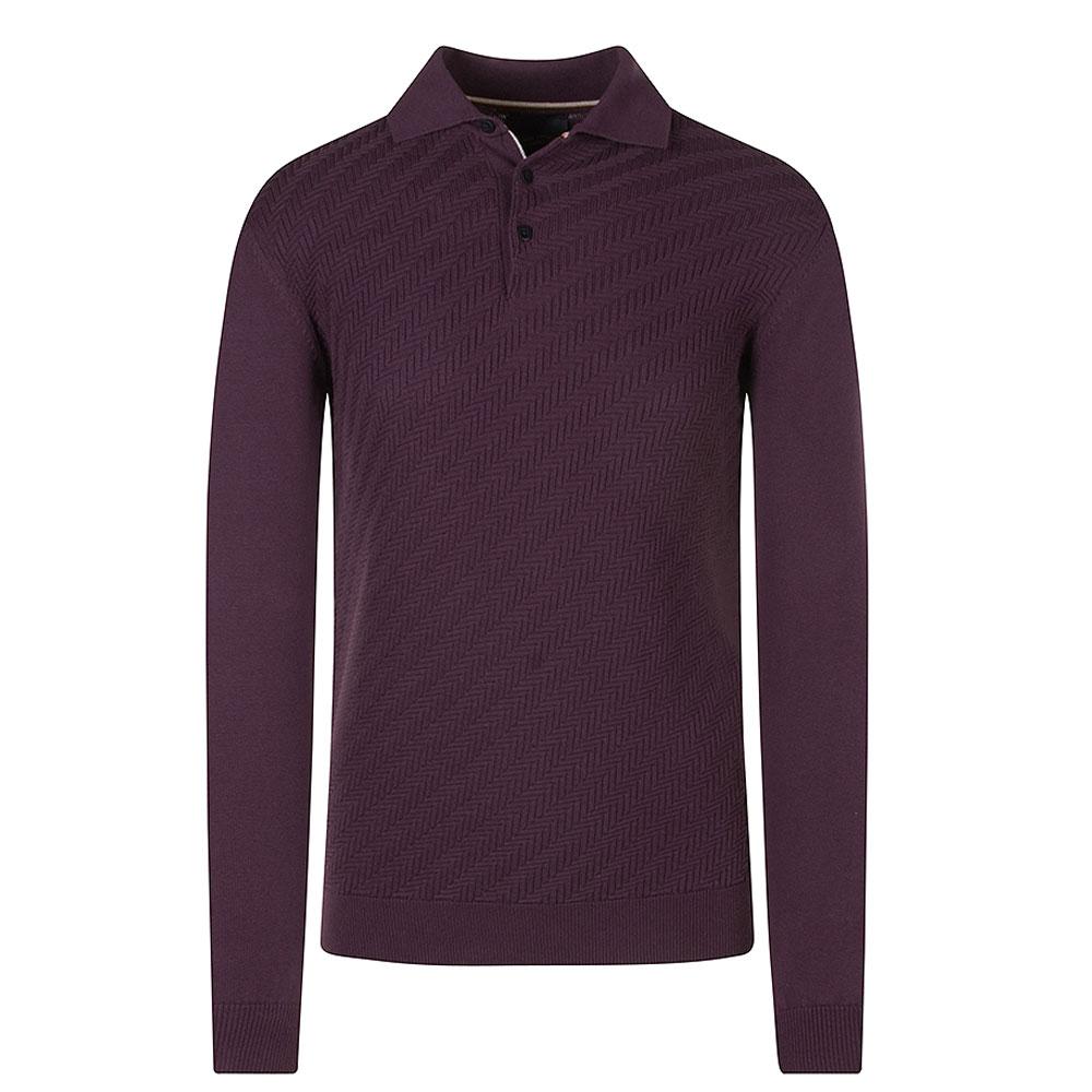 Guide Polo Knit in Purple